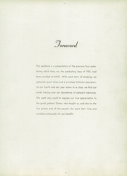 Page 7, 1951 Edition, Marquette High School - Memorare Yearbook (Ottawa, IL) online yearbook collection