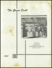 Page 5, 1957 Edition, Wethersfield High School - Green Quill Yearbook (Kewanee, IL) online yearbook collection