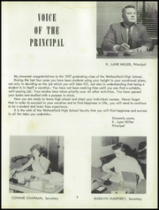Page 9, 1957 Edition, Wethersfield High School - Green Quill Yearbook (Kewanee, IL) online yearbook collection