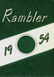 1954 Edition, Brown County High School - Rambler Yearbook (Mount Sterling, IL)