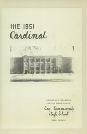 Page 5, 1951 Edition, Erie Community High School - Cardinal Yearbook (Erie, IL) online yearbook collection