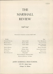 Page 7, 1947 Edition, Marshall High School - Review Yearbook (Chicago, IL) online yearbook collection