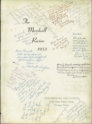Page 5, 1953 Edition, Marshall High School - Review Yearbook (Chicago, IL) online yearbook collection