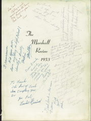 Page 7, 1953 Edition, Marshall High School - Review Yearbook (Chicago, IL) online yearbook collection