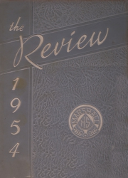 Marshall High School - Review Yearbook (Chicago, IL) online yearbook collection, 1954 Edition, Page 1