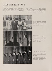 Page 14, 1955 Edition, Marshall High School - Review Yearbook (Chicago, IL) online yearbook collection