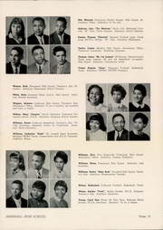 Page 15, 1956 Edition, Marshall High School - Review Yearbook (Chicago, IL) online yearbook collection