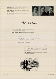 Page 16, 1956 Edition, Marshall High School - Review Yearbook (Chicago, IL) online yearbook collection