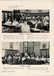 Page 17, 1956 Edition, Marshall High School - Review Yearbook (Chicago, IL) online yearbook collection
