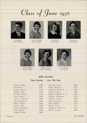 Page 8, 1956 Edition, Marshall High School - Review Yearbook (Chicago, IL) online yearbook collection