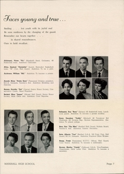 Page 9, 1956 Edition, Marshall High School - Review Yearbook (Chicago, IL) online yearbook collection