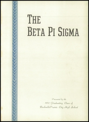 Page 5, 1952 Edition, Bushnell Prairie City High School - Beta Pi Sigma Yearbook (Bushnell, IL) online yearbook collection