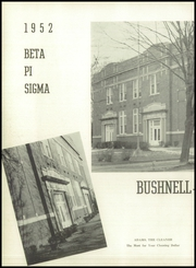 Page 6, 1952 Edition, Bushnell Prairie City High School - Beta Pi Sigma Yearbook (Bushnell, IL) online yearbook collection