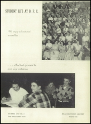 Page 9, 1952 Edition, Bushnell Prairie City High School - Beta Pi Sigma Yearbook (Bushnell, IL) online yearbook collection