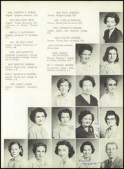 Page 11, 1950 Edition, Pensacola High School - Tigers Tale Yearbook (Pensacola, FL) online yearbook collection