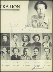 Page 13, 1951 Edition, Pensacola High School - Tigers Tale Yearbook (Pensacola, FL) online yearbook collection