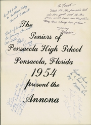 Page 5, 1954 Edition, Pensacola High School - Tigers Tale Yearbook (Pensacola, FL) online yearbook collection