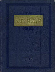 Page 1, 1935 Edition, Villa Grove High School - Vade Mecum Yearbook (Villa Grove, IL) online yearbook collection