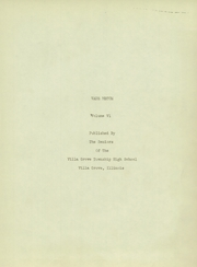 Page 7, 1935 Edition, Villa Grove High School - Vade Mecum Yearbook (Villa Grove, IL) online yearbook collection