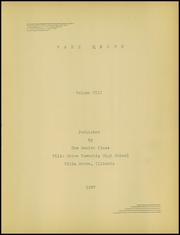 Page 5, 1937 Edition, Villa Grove High School - Vade Mecum Yearbook (Villa Grove, IL) online yearbook collection