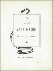 Page 7, 1945 Edition, Villa Grove High School - Vade Mecum Yearbook (Villa Grove, IL) online yearbook collection