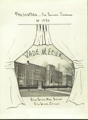 Page 7, 1950 Edition, Villa Grove High School - Vade Mecum Yearbook (Villa Grove, IL) online yearbook collection