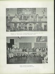 Page 10, 1952 Edition, Villa Grove High School - Vade Mecum Yearbook (Villa Grove, IL) online yearbook collection
