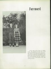 Page 6, 1952 Edition, Villa Grove High School - Vade Mecum Yearbook (Villa Grove, IL) online yearbook collection