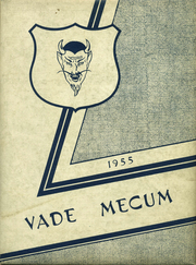 1955 Edition, Villa Grove High School - Vade Mecum Yearbook (Villa Grove, IL)