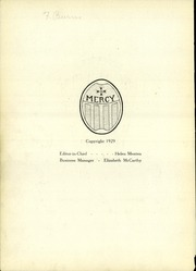 Page 6, 1930 Edition, Mercy High School - Mercian Yearbook (Chicago, IL) online yearbook collection