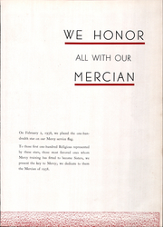 Page 11, 1938 Edition, Mercy High School - Mercian Yearbook (Chicago, IL) online yearbook collection