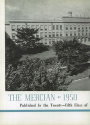 Page 6, 1950 Edition, Mercy High School - Mercian Yearbook (Chicago, IL) online yearbook collection