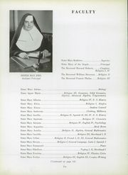 Page 16, 1951 Edition, Mercy High School - Mercian Yearbook (Chicago, IL) online yearbook collection