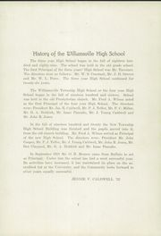 Page 11, 1922 Edition, Williamsville High School - Will Co U Yearbook (Williamsville, IL) online yearbook collection