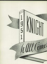 Page 6, 1951 Edition, St Mel High School - Knight Yearbook (Chicago, IL) online yearbook collection