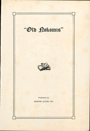 Page 7, 1923 Edition, Nokomis High School - Old Nokomis Yearbook (Nokomis, IL) online yearbook collection