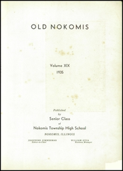 Page 5, 1935 Edition, Nokomis High School - Old Nokomis Yearbook (Nokomis, IL) online yearbook collection