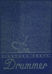 1940 Edition, Gibson City High School - Drummer Yearbook (Gibson City, IL)
