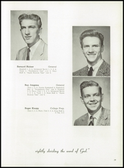 Timothy Christian High School - Saga Yearbook (Elmhurst, IL) online yearbook collection, 1956 Edition, Page 23