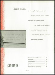 Page 10, 1959 Edition, Timothy Christian High School - Saga Yearbook (Elmhurst, IL) online yearbook collection