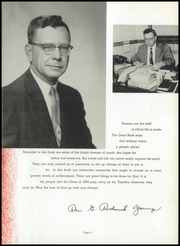 Page 9, 1959 Edition, Timothy Christian High School - Saga Yearbook (Elmhurst, IL) online yearbook collection