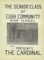 Page 5, 1947 Edition, Cuba High School - Cardinal Yearbook (Cuba, IL) online yearbook collection
