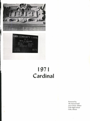 Page 5, 1971 Edition, Cuba High School - Cardinal Yearbook (Cuba, IL) online yearbook collection
