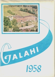 Galva High School - Galahi Yearbook (Galva, IL) online yearbook collection, 1958 Edition, Page 1