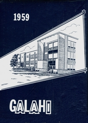 Galva High School - Galahi Yearbook (Galva, IL) online yearbook collection, 1959 Edition, Page 1
