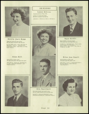 Page 17, 1949 Edition, Tremont High School - Echo Yearbook (Tremont, IL) online yearbook collection