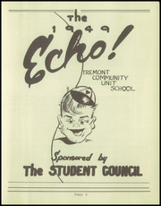 Page 7, 1949 Edition, Tremont High School - Echo Yearbook (Tremont, IL) online yearbook collection