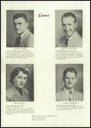 Page 12, 1952 Edition, Tremont High School - Echo Yearbook (Tremont, IL) online yearbook collection