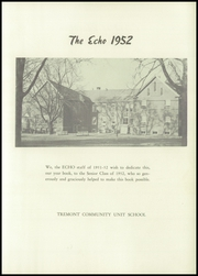 Page 7, 1952 Edition, Tremont High School - Echo Yearbook (Tremont, IL) online yearbook collection