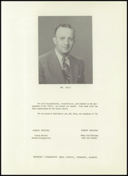 Page 5, 1956 Edition, Tremont High School - Echo Yearbook (Tremont, IL) online yearbook collection